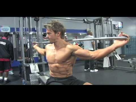 Side twists for obliques - Rob Riches