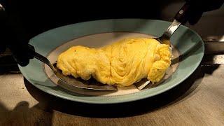 일본식 철판 오믈렛 / japanese style egg omelet / korean street food