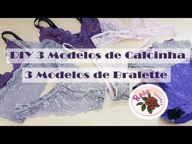 0204028a3 6 Modelos de Lingerie + Molde – Curso de Corte e Costura