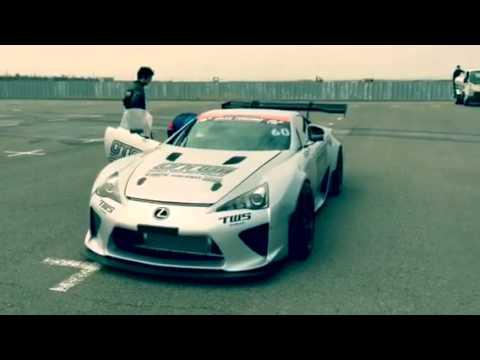 Nice Drifting Lexus LFA ...