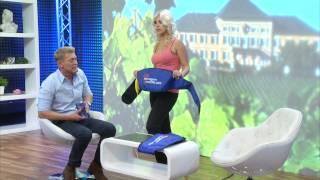 newgen medicals Massagegürtel mit Vibrations- & Klopfmassage