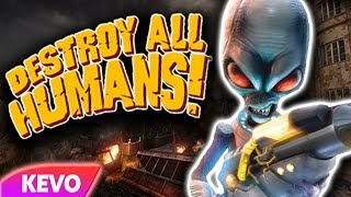 Destroy All Humans but the invasion is failing