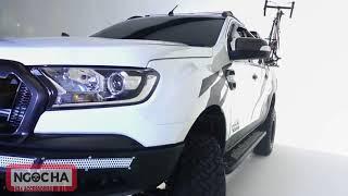Ford Ranger độ full đồ Offroad X và phuộc Fox