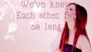 ashley tisdale - never gonna give you up (with lyrics)