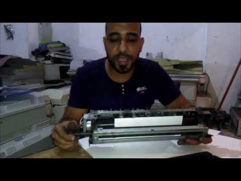 hot roller , pressuer roller , clean roller in fusing unit Ricoh mp 4500 , 3045 , 2045 , 1045