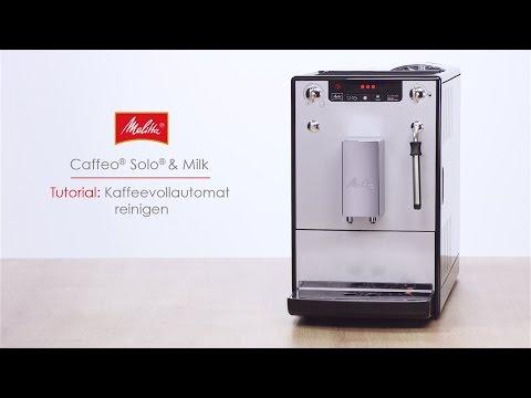 Melitta® Solo® & Milk - Tutorial Kaffeevollautomat reinigen