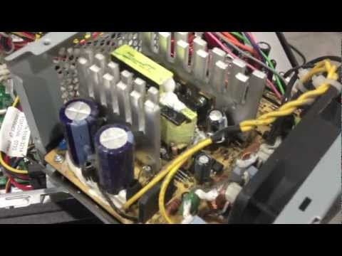 Computer Power Supply Repair – DEAD bad capacitor No / Flashing Green Light