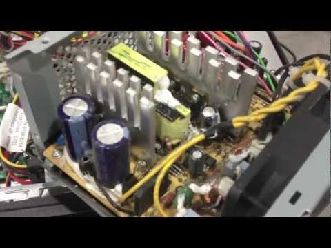 Computer Power Supply Repair – DEAD bad capacitor No / Flashing Green Light