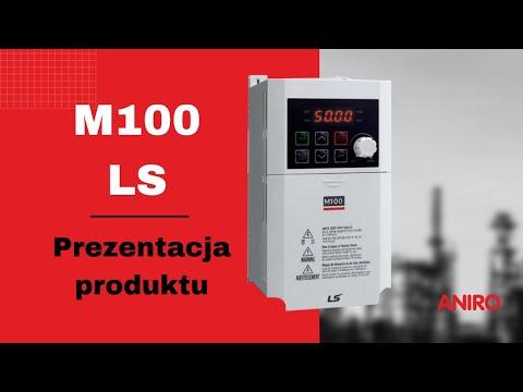 Przemiennik częstotliwości M100 LSIS - zdjęcie