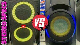 JBL PARTYBOX 200 VS PANASONIC SC TMAX10E K!Deep bass Battle!Speaker Comparison! Review 2020!