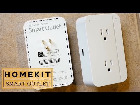ConnectSense Smart Outlet Review: Home Automation with Apple HomeKit!