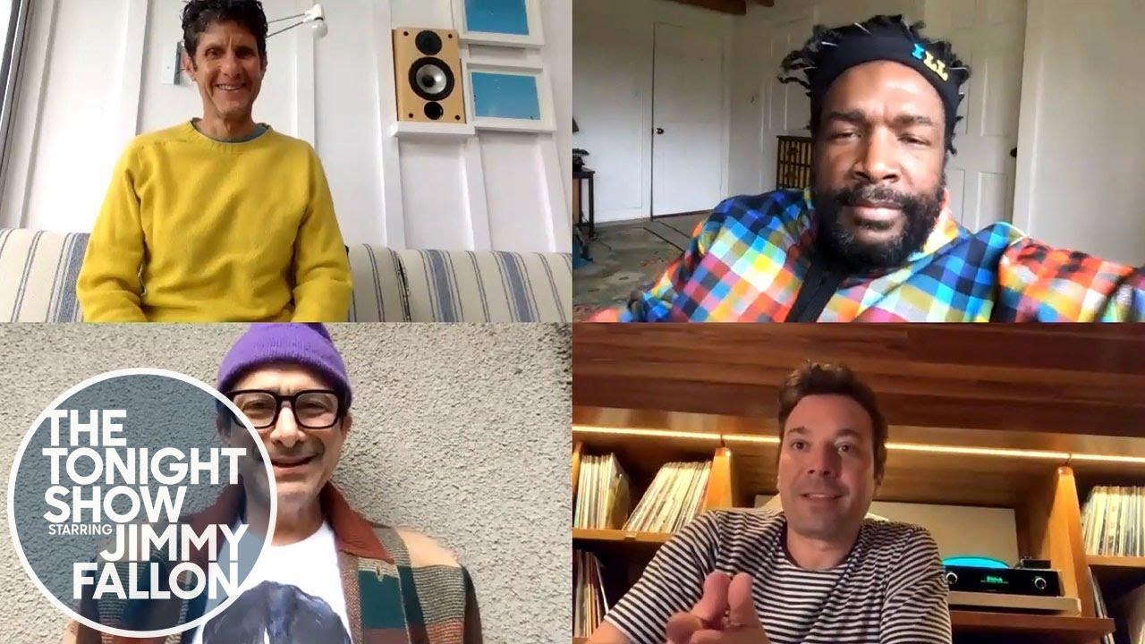 Jimmy and Questlove Fan Boy Out Interviewing Mike D and Adrock thumbnail