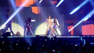 Cheryl Cole - Opening of the Million Lights Tour 2012 - Sexy Den a Mutha