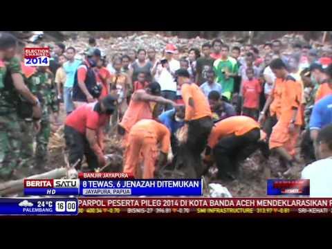 Tim Temukan Korban Tambahan Banjir Bandang Jayapura