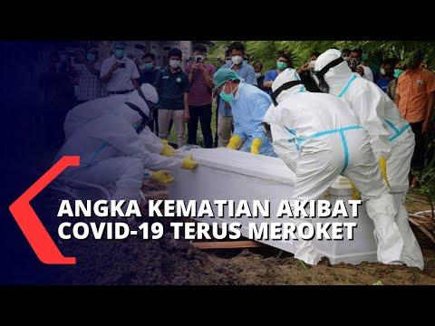 Angka Kematian Akibat Corona di Ibu Kota Jakarta Terus Meningkat