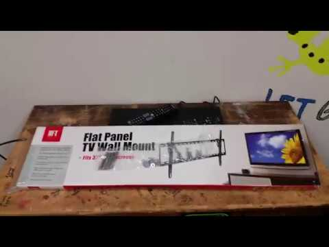 Review on Harbor Freight's Flat Panel TV Wall Mount