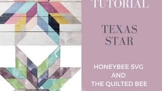 Texas Star Or Lone Star Barn Quilt Tutorial