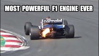 Brabham BMW BT52 F1   Flames!