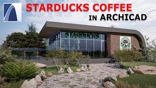 ARCHICAD 23 Tutorial #6 COFFEE SHOP DESIGN