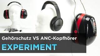 Gehörschutz VS Active-Noise-Cancelling(ANC) - Trick - Passive Geräuschunterdrückung für 15€