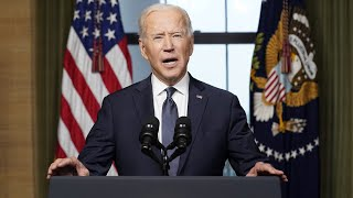 video: Joe Biden to 'withdraw all US troops from Afghanistan by September 11'