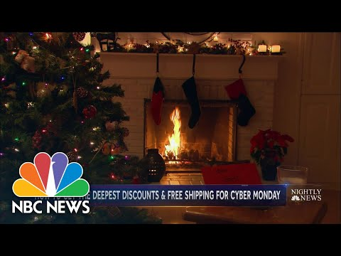 Cyber Monday To Be The Biggest Online Sales Day In History | NBC Nightly News
