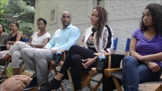 "Pop Life Radio – On Set with Boris Kodjoe & Nicole Ari Parker for TV One's ""Downsized"""