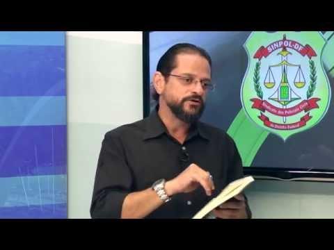 TV Sinpol/DF: Escritor e policial Daniel Barros vai lançar o romance Mar de Pedras