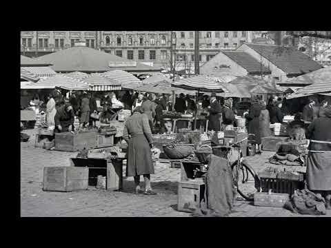 München 1930 - 1960 // Auf dem Viktualienmarkt