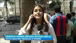 Os disparos aconteceram dentro da Catedral Metropolitana, na região central do município. Para assistir ao conteúdo na íntegra, acesse PlayPlus.com