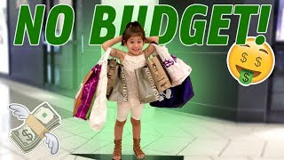 PENELOPE DOES THE NO BUDGET SHOPPING CHALLENGE!!! (she made us broke)