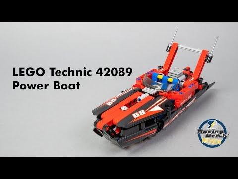 LEGO Technic 42089 Power Boat unboxing, speed build and review