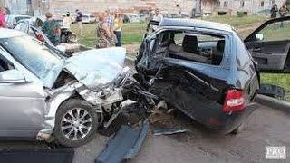 происшествия на дорогах, аварии на дорогах 2015 новая нарезка д т п №23