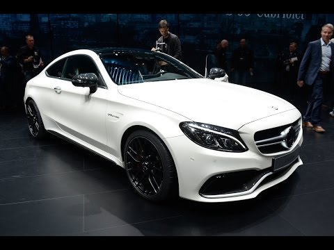 Mercedes-AMG C63 Coupe revealed at Frankfurt