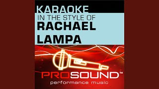 Blessed (Karaoke With Background Vocals) (In The Style Of Rachael Lampa)