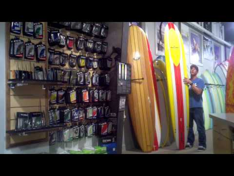 Robert August What I Ride Surfboard Video Review