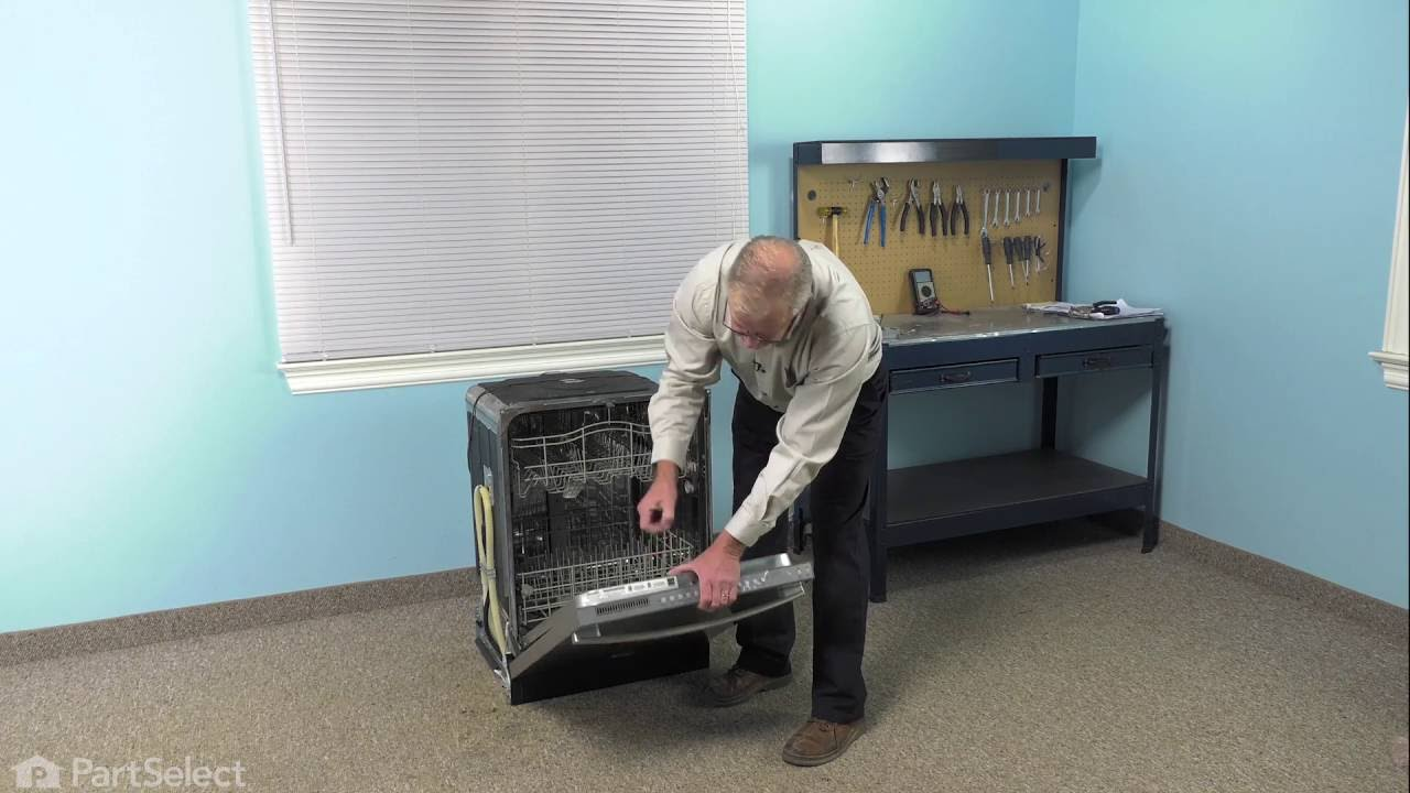 Replacing your Whirlpool Dishwasher Electronic Control Board