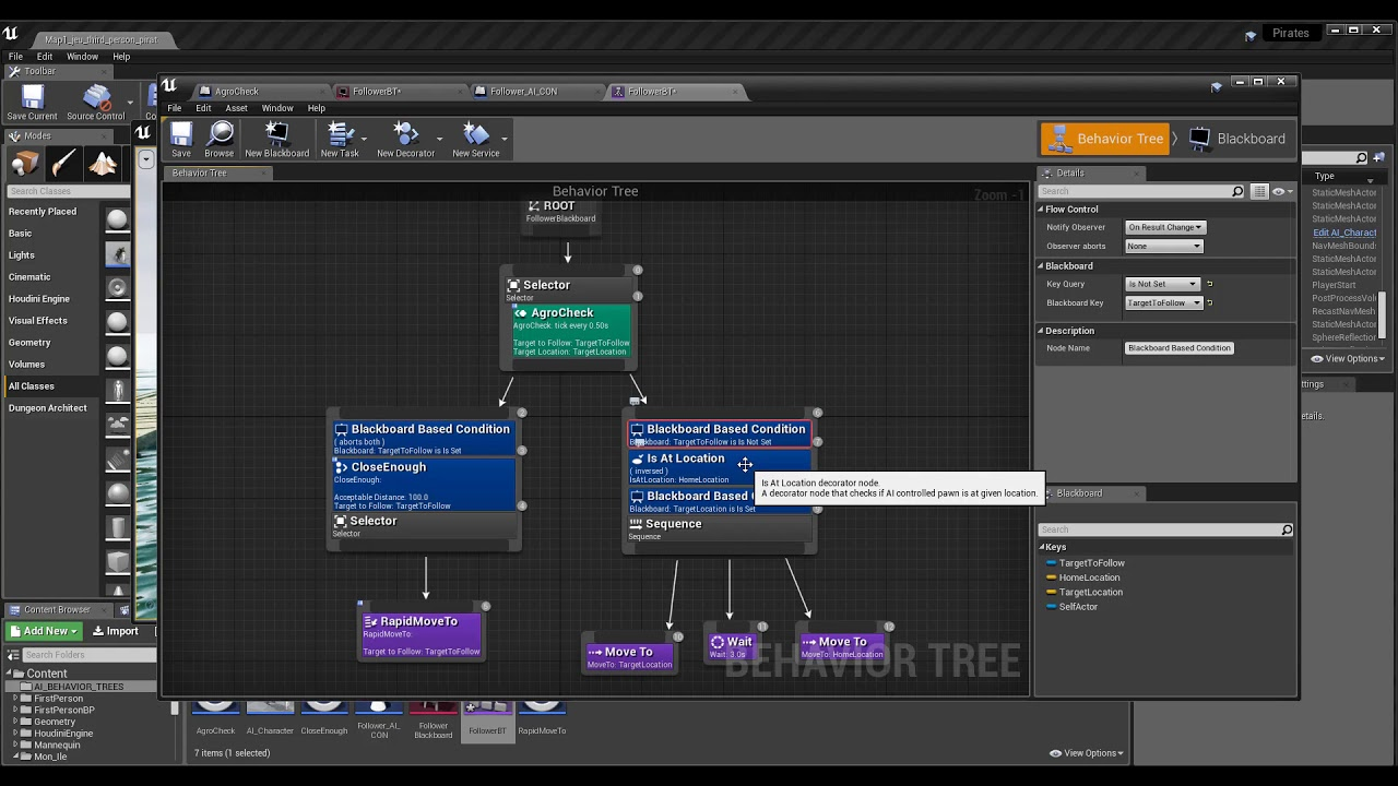 Tuto du Jeudi : AI (Behavior Trees) avec Unreal Engine 4