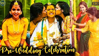 Yaaradi Nee Mohini Serial Chaitra Reddy's Haldi Ceremony | Chaitra Reddy Weds Rakesh | FULL VIDEO