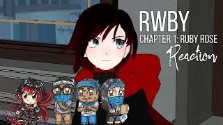 RWBY Chapter 1: Ruby Rose Reaction