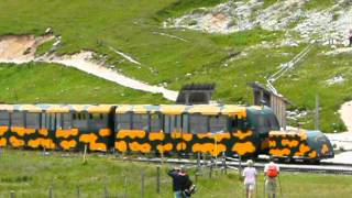 preview picture of video 'Schneeberg Schneebergbahn Salamander train Salamanderbahn Puchberg Holiday Austria mountain 6'