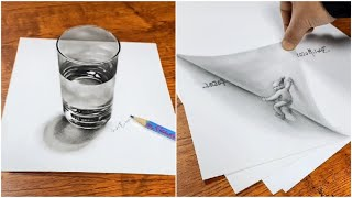 How To Draw - 3D Drawing Tricks Art On Paper