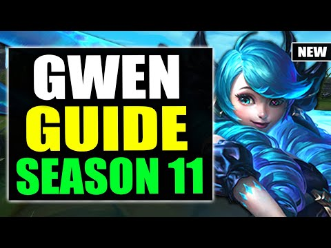 HOW TO PLAY GWEN TOP SEASON 11 | Gwen Gameplay Guide S11 (Best Build, Runes, Playstyle)