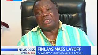 Francis Atwoli threatens to sue Finlay after announcing layoff of over 1000 employees