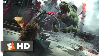 The Great Wall (2017) - Close Combat Scene (2/10) | Movieclips
