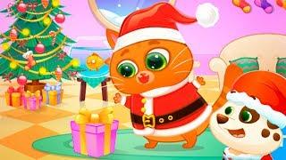 Мой виртуальный КОТИК БУБУ Встреча новый год Мультики для детей Игры про котят BUBBU #Малышерин