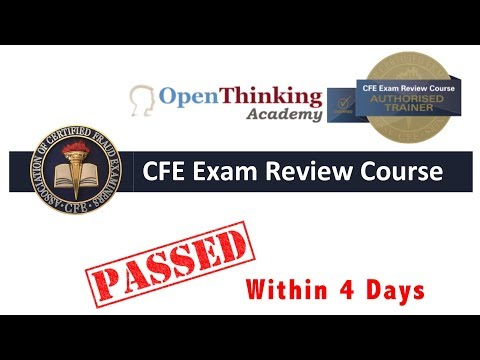 Become a Certified Fraud Examiner within 4 Days - YouTube