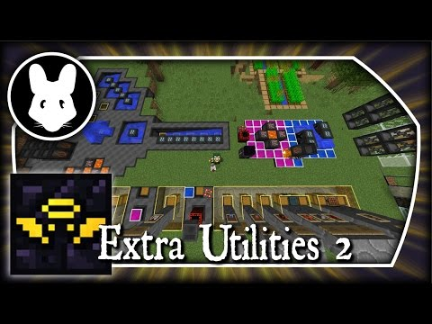 Extra Utilities 2: Starting with Grid Power! Part 1 - Minecraft 1.10