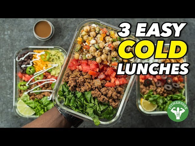 3 Easy Cold Lunches to Mix & Match