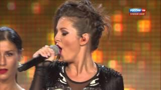 Нюша ''Я тебя поцеловала'' Новая Волна 2014 (HD)